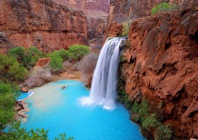 Havasu-Falls-in-Havasupai-Grand-Canyon